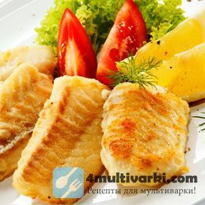 Легкий рецепт рыбы в мультиварке