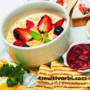 Рецепт йогурта в мультиварке для приготовления завтрака