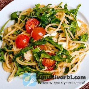 Постный рецепт спагетти в мультиварке