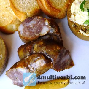 Домашняя колбаса в мультиварке – к празднику!