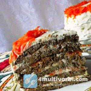 Рецепт печеночного торта с сырным кремом