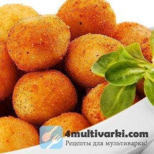 Рецепт сырных шариков в мультиварке