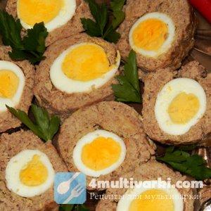 Мясной рулет с яйцом – из куриного филе