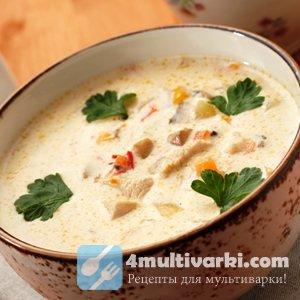 Быстрый рецепт сырного супа в мультиварке