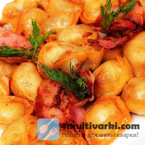 Картофельные пельмени в мультиварке