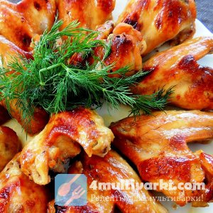 Простой рецепт куриных крылышек