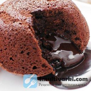Рецепт пудинга с шоколадом