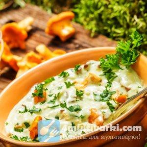 Грибы со сметаной – роскошное блюдо!