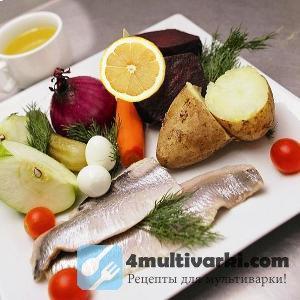 Рецепт рыбного винегрета