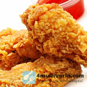 Курица во фритюре с косточками или без