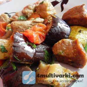 Рецепт свинины с овощами... и грушами