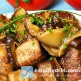 Рецепт свинины с грибами