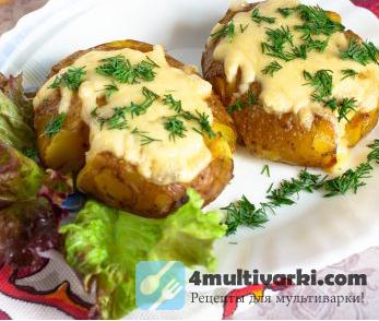 Молодой картофель по-португальски в горчичной заправке